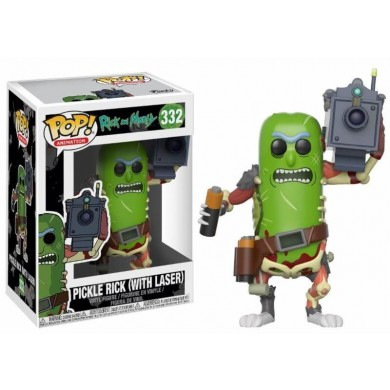 Funko Pop! Rick and Morty - Pickle Rick with Laser