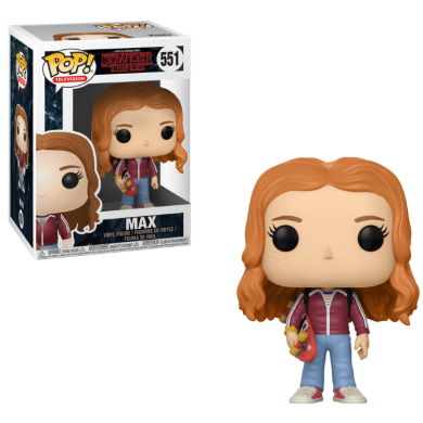 Funko Pop! Stranger Things - Max with Skate Deck