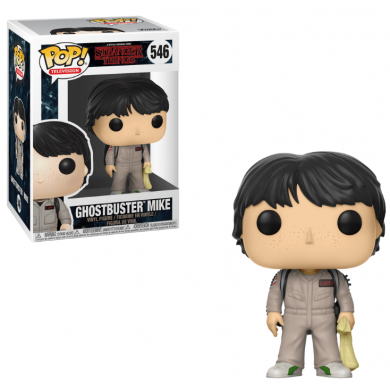 Funko Pop! Stranger Things - Mike Ghostbuster