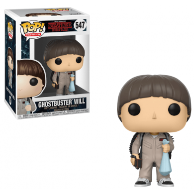 Funko Pop! Stranger Things - Will Ghostbuster