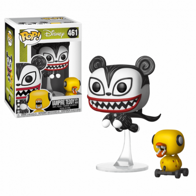 Funko Pop! Disney: The Nightmare Before Christmas - Vampire Teddy with Undead Duck