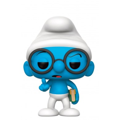 Funko Pop! The Smurfs - Brainy Smurf / Brilsmurf
