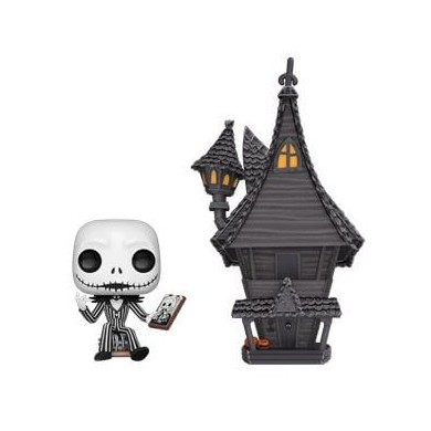 Funko Pop! Town: The Nightmare Before Christmas - Jack with Jack's House