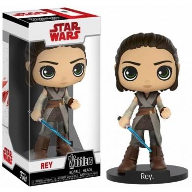 Funko Pop! Wobbler: Star Wars The Last Jedi - Rey