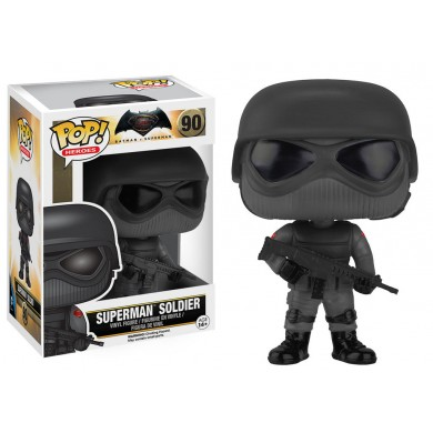 Pop! DC: Batman vs Superman - Superman Soldier